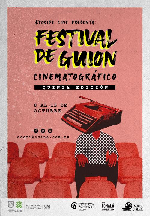 Festival de guión cartel