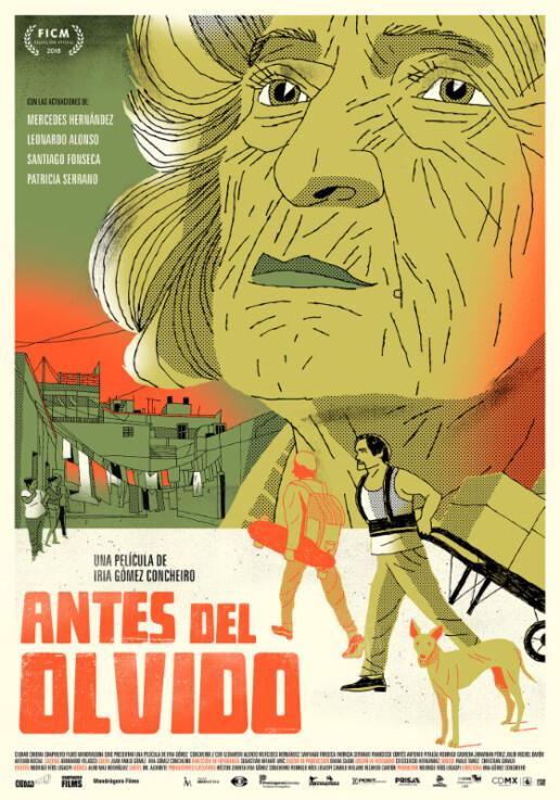 Poster Antes Del Olvido