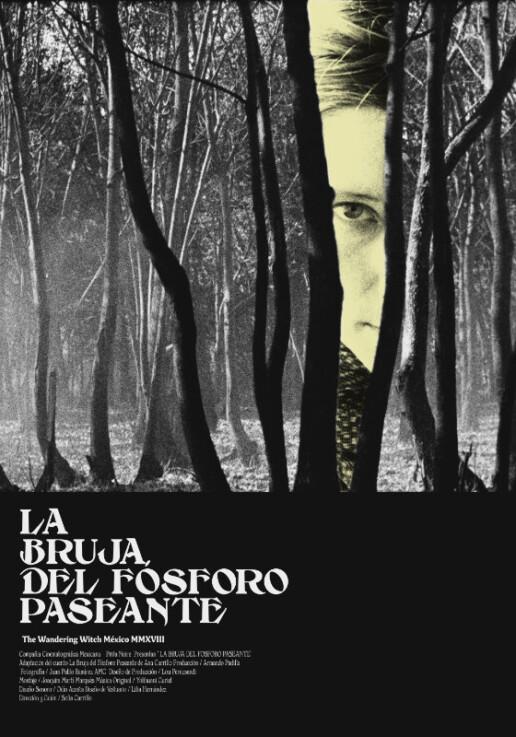 Poster La Bruja Del Fósforo Paseante